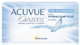 Acuvue Oasys 2-week for Astigmatism 6 lenses/box
